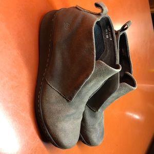 Born women's suede boots size 11